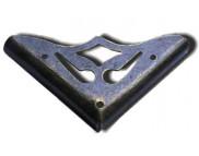 Уголок металлический фигурный 35х5мм MFС-033