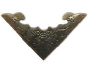 Уголок металлический фигурный 39х3мм MFС-038