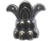 Ножка металлическая фигурная 34х43мм MFС-024