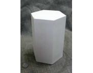 Геометрическое тело (гипс) Призма 20x145x126мм