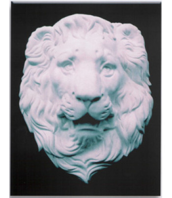 Маска Льва (гипс) 388х317х123мм