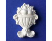 ВАЗА декоративный элемент для панно (гипс) 3,2х2,5см