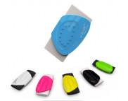 Ластик прямоугольн.Y-Plus BUTTERFLY в пластик держателе 30х60х8мм в ассортименте