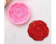 """Молд силиконовый """"Прекрасная роза"""" d5,7см"""