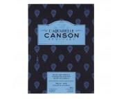 RR Альбом-склейка  для акварели 300г 100%хлопок Heritage Torchon Canson, альбом форм.12л  23х31см