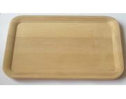 Блюдо для декора прямоугольное деревянное для декора (ольха) 160х240мм
