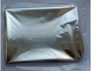 RR Фольга метал.на плёнке СЕРЕБРО S=0,5м2.в зип пакете