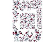 """16.10 Декупажная карта(лазерн.печать)29,5х42 """"Ковер из роз(холодный)"""""""