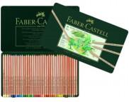 """Набор пастельных каранд.""""Faber-Castell"""" в мет.короб. 36цв /112136"""