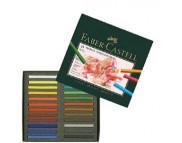 Набор цветной пастели мягк.квадр 35мм Faber-Castell в картон.упак 48цв /128248
