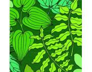 """R РАЗБИРАТЬ 10 Салфетка 33х33см (20шт) """"Зеленые листья"""" зеленый"""