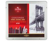 Набор для графики Gioconda 8898 Koh-i-Noor 23предм.в метал.упак.