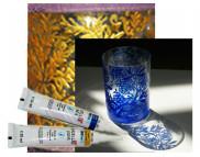 Контур по фарфору и керамике прочный (обжиг 160*С)  Hobby Line 20мл ЗОЛОТО