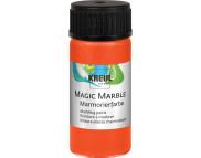 """Краска для мармор. универс.""""Magic Marble"""" 20 мл  ОРАНЖЕВЫЙ"""