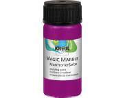 "Краска для мармор. универс.""Magic Marble"" 20 мл  МАДЖЕНТА"
