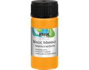 """Краска для мармор. универс.""""Magic Marble"""" 20 мл  НЕОН ОРАНЖЕВЫЙ"""