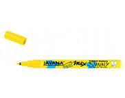 Маркер для светлой ткани с тонким наконечником (1-2мм) Javana Sunny(стирка 60*С) ЖЕЛТЫЙ