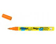 Маркер для светлой ткани с тонким наконечником (1-2мм) Javana Sunny(стирка 60*С) ОРАНЖЕВЫЙ