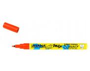 Маркер для светлой ткани с тонким наконечником (1-2мм) Javana Sunny(стирка 60*С) КРАСНЫЙ