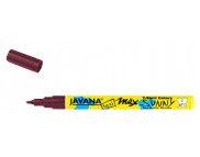 Маркер для светлой ткани с тонким наконечником (1-2мм) Javana Sunny(стирка 60*С) КОРИЧНЕВЫЙ