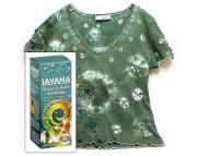 СНЯТЫ С ПР-ВА,Краситель Javana  для ткани (хлопок,лен,вискоза), 30-40*С 100мл  ЖЕЛТЫЙ