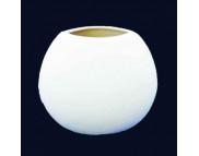 """Ваза """"Капля классик"""" малая керамическая белая для декорирования h130мм"""