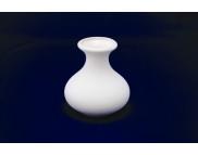 """Ваза """"Бутон"""" большая керамическая белая для декорирования h120мм"""