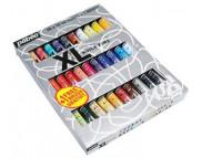 """Н-р масл.красок тонкотертых """"XL"""" в картон.коробке (30х20мл+1кисть)"""
