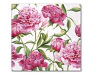 """R РАЗБИРАТЬ 27.7 Салфетка 33х33см (20шт) """"Розовые пионы"""""""
