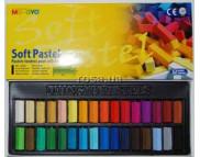 Набор цветной пастели мягк.профессион.квадр.MUNGYO  1/2  MPS в картон.упак.32цв