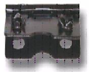 Крепление для откидной ножки рамы среднее  /0384-KR02-FU5M