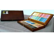 Набор цветной пастели Подольск в дер.коробке 130цв