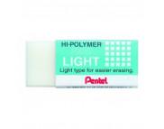 """Ластик прямоугольн.""""Hi-Polymer Light-ZEL05""""  Pentel БЕЛЫЙ"""