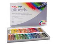 Набор пастели масл. Pentel Arts в картон.упак.50цв