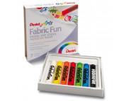Набор пастели для ткани Pentel FabricFun Pastels 7цв