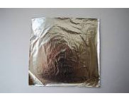 Поталь имитация СЕРЕБРА (алюминий) 20листов 160х160мм