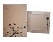 *Папка-коробка картоннная для хран. и траспорт. работ на бумаге А4