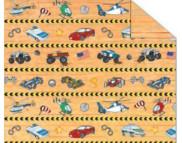 """RR п Картон дизайнерский двусторонний """"Красочный мир автомобилей# 300г 20х30см мотив 02  ПЛОСКИ И АВТОМОБИЛИ"""