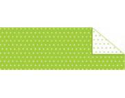 """RR п Картон дизайнерский двусторонний """"Пунктир Мини"""" 300г 20х30см ЗЕЛЕНЫЙ СВЕТЛЫЙ"""