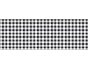 """RR п Картон дизайнерский двусторонний """"Клетка Мини"""" 300г 20х30см ЧЕРНЫЙ"""