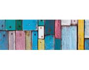 R п Картон дизайнерский цветной 300г 49,5х68см ДРЕВЕСИНА ЦВЕТНАЯ
