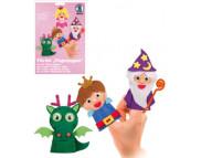 Набор для изготовления мягк пальчиковых игрушек (4шт.) СКАЗКА