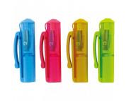 Точилка колпачок пластик.с контейнером Cap Sharpener Pop