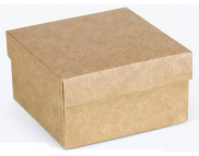 """Бельё картонное: Коробка """"Премиум"""" № М0003-о20  90х90х50мм КРАФТ"""