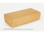 """Бельё картонное: Коробка """"Пенал"""" № М0008-о22  200х95х50мм КРАФТ"""