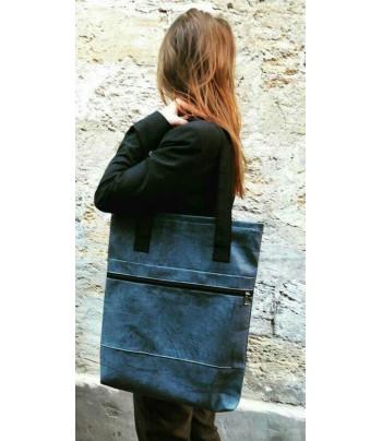 Папка-сумка для планшетов /кожзам А3