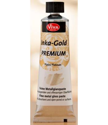 Реставрац. метал.воск.паста Inka-Gold Premium 32мл ПЛАТИНА